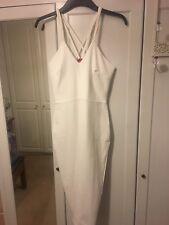 Vestido De Fiesta Boohoo Talla 14 Vestido Blanco Gallina Do Nuevo