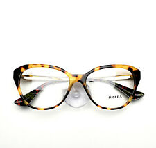 Prada Eyeglasses Cat Eye 28Sf 7So Brown Havana Frame Brand New 54mm without case