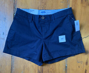 "Old Navy 2 Mid Rise 3.5"" Everyday Shorts Navy Blue"