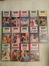 Walt Disney Studio Film Collection VHS lot of 14