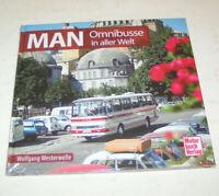 Bildband - MAN Omnibusse - Die Geschichte der MAN Omnibusse