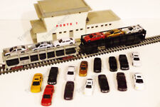 VOITURE RESAUX HO 1/87  LOT DE 20  DECORS TRAINS  JOUEF LIMA ROCO FLEISCHMANN