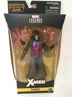 """Marvel Legends X-MEN GAMBIT 6"""" Action Figure BAF Caliban NEW"""