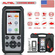 Autel MD806 ABS SRS Airbag Engine Light Check BMS SAS EPB DPF Throttle Hand Tool