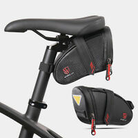 Bicycle Under Seat Saddle Bag Mini Bike Rear Storage Tail Pouch Cycling Tools