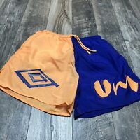 Vintage Umbro Nylon Sand Soccer Shorts Size XL Rare