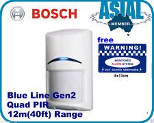 Bosch alarm ISC-BPQ2-W12 Blue Line Gen2 Quad PIR Motion Detector Sensors