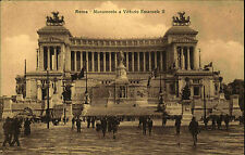 Rom Roma Italien Italia Italy AK ~1910 Monumento a Vittorio Emanuele II Denkmal