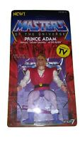 Masters of the Universe Vintage Mattel Prince Adam on CUSTOM Super7 CARD MOTU