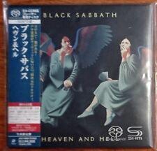 BLACK SABBATH - Heaven and HelL JAPAN SHM-SACD CD mini LP UIGY9088 Like New