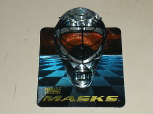 1996-97 Pinnacle Masks Die Cut #8 Stephane Fiset