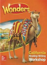 Wonders McGraw Hill Grade 3 California Reading/Writing Workshop Hardcover New