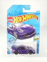 Hot Wheels 2019 HW Factory Fresh Purple Porsche 911 GT3 RS NEW NOC with Protecto