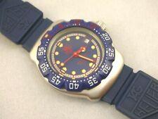 New listing TAG HEUER F1 formula 1 classic, ladies mini diver, BLUE DIAL