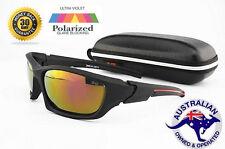 POLARISED Sunglasses Lure Fishing polarized CASE Flathead Barra Bream boating G