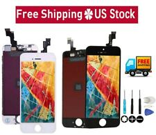 LCD Screen Digitizer Touch Full Assembly Replacement For iPhone 5s 6 6s 7 8 Plus