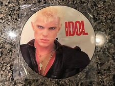 Billy Idol Picture Disc! Limited. The Cult Sex Pistols Aerosmith Def Deppard