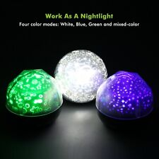 Magic Universe Night Light LED Projection Lamp Colorful Rotary Planet Starry Sky