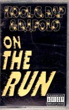 NEW Kool G Rap DJ Polo On The Run Straight Jacket 1992 Cassette Tape Maxi Single