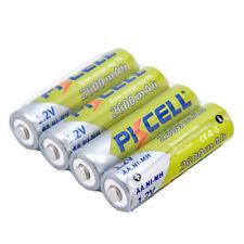 PKCELL 4pcs AA Rechargeable Battery AA 1.2V Ni-MH 2600mAh Batteries