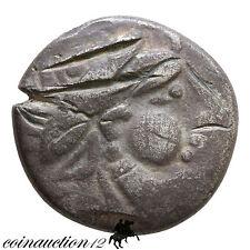 CELTIC DANUBE SIRMIUM SILVER TETRADRACHM IMITATION OF PHILIP II 200-100 B.C