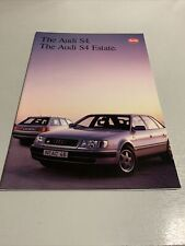 The Audi S4/ The audi S4 Estate - Car sales brochure