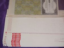KNITTING MACHINE ACCESSORY'S PUNCH CARDS FOR STANDARD GAUGE MACHINES SERIES 57