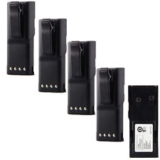 5X HNN9628 HNN9628A Battery for MOTOROLA GP-300 PTX600 MTX638 LCS2000 LTS2000