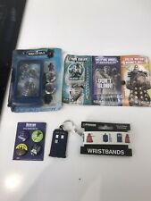 Doctor Dr Who Bundle. Badges, Game, Wristband And More