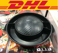 BBQ electric grill pan plate set nonstick barbecue hot stove Thai Korean Kitchen