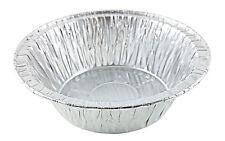 "5 3/4"" Aluminum Foil Deep Meat/Pot Pie Pan Tin 12 Pack - Disposable Containers"
