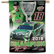Kyle Busch Cup Series 2019 Champion House Flag