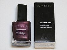 Avon NailWear Pro Nail Enamel N239 Night Viol 12 ml 0.4 fl oz polish mani pedi;;