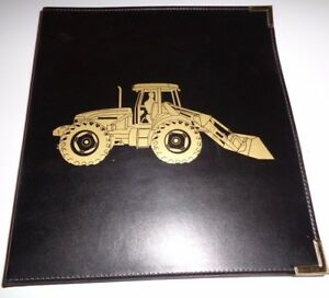 New Holland TV140 Bidirectional Tractor Sales Manual & Binder Original! NH