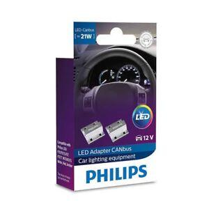 PHILIPS LED Adapter CANBUS 21W 12V Error warning canceller Resistor 18957X2 Set