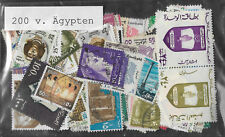 Egypt Stamp Collection Packet of 200 Different Used Stamps Nice Selection