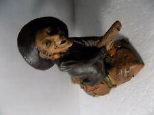 Vintage Tom Clark Gnomes 1987 Brunnehilde Witch Figurine Cairn Studio Signed