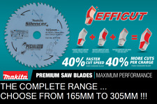 Makita Specialized Efficut Saw Blade for Wood MDF Laminate 165mm To 305mm