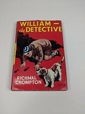 William - The Detective by Richmal Crompton 1947 HB