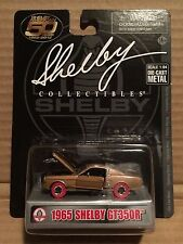 SHELBY COLLECTIBLES 1:64 DIE-CAST 1965 SHELBY GT350R RED TIRE CHASE