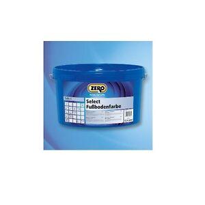 ZERO Select Fußbodenfarbe 255 12,5 Liter