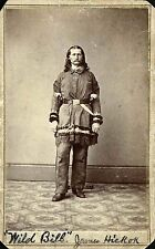 "Wild Bill Hickok Western Figure From Actual Photo Printed on 8"" X10"" Photo Paper"