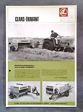CLAAS Trabant  Hochdruckpresse  Original 1968