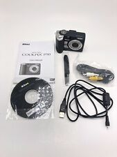 Nikon Coolpix P50 Digital Camera Black with User Manual, Software, Cable Cords