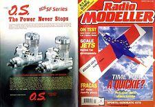 RADIO MODELLER MAGAZINE 1995 MAR KATHY'S CLOWN BY CLIFF STONE FREE PLAN