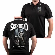 POLO Shirt Skinhead a way of life 69 oi Stiefel Martens Working Class Krawall