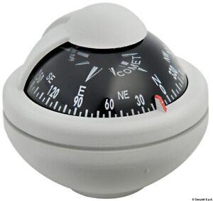 "Riviera Comet Compass 2"" w/Bracket Grey"