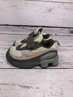Nike Kids Shox Gray Black Toddler Running Shoes Low Top Size US 5C