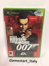 007 DALLA RUSSIA CON AMORE (XBOX) NUOVO SIGILLATO NEW SEALED PAL VERSION