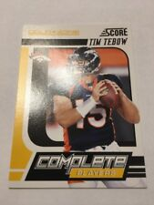 2011 Score Tim Tebow Complete Players #17 GOLD ZONE SP